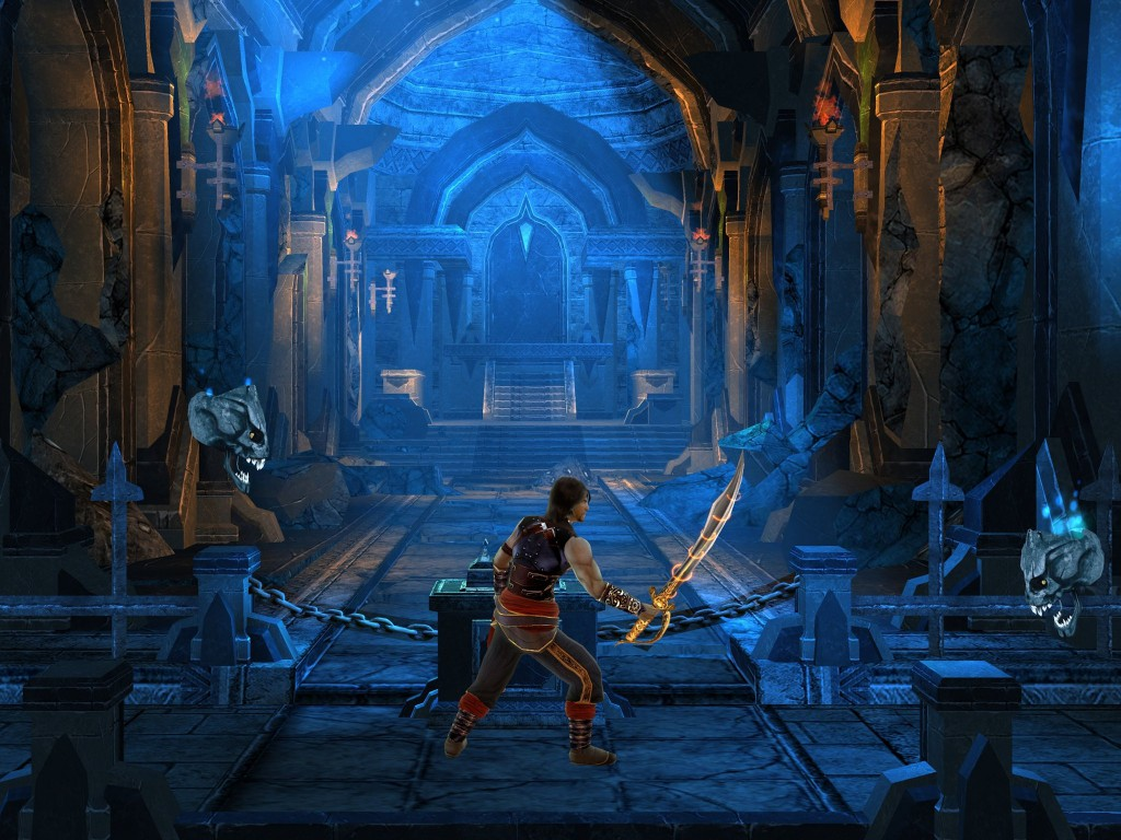 prince of persia shadow flame битва в замке