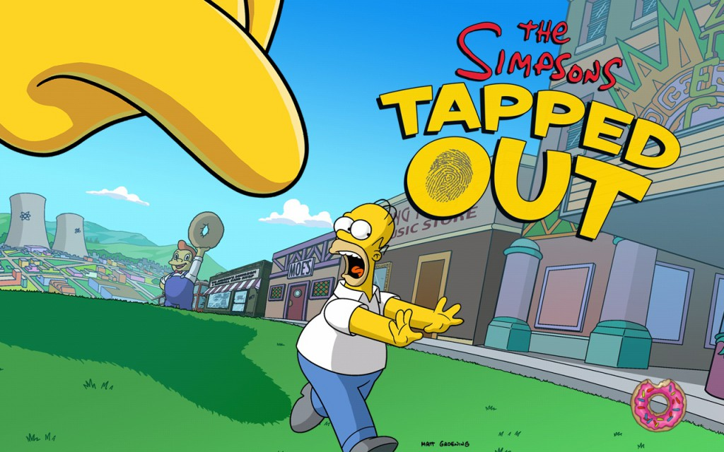 The Simpsons tapped out заставка