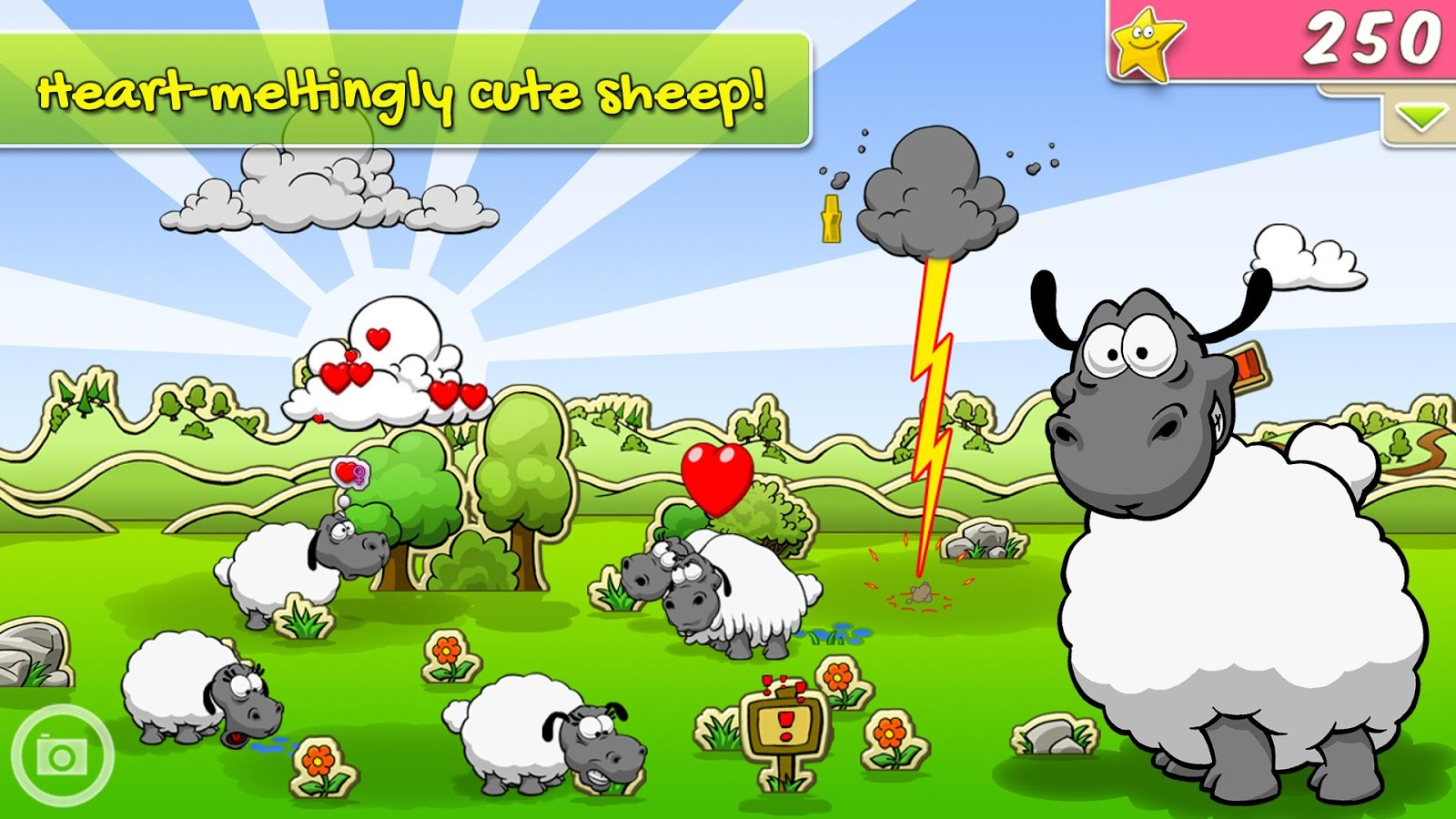 овечки в clouds sheep