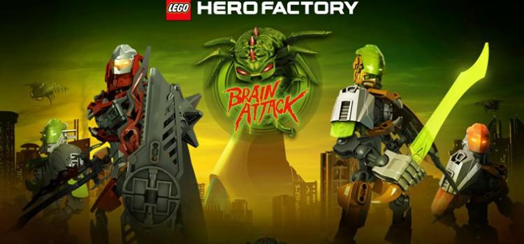 LEGO HeroFactory Brain Attack на компьютер