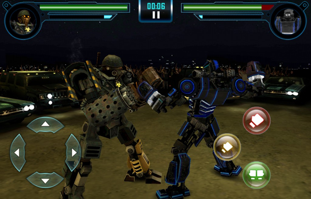 битва в Real steel world robot boxing