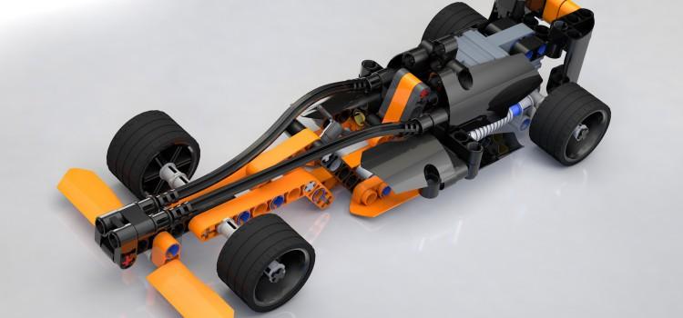 LEGO Technic Race у вас на компьютере