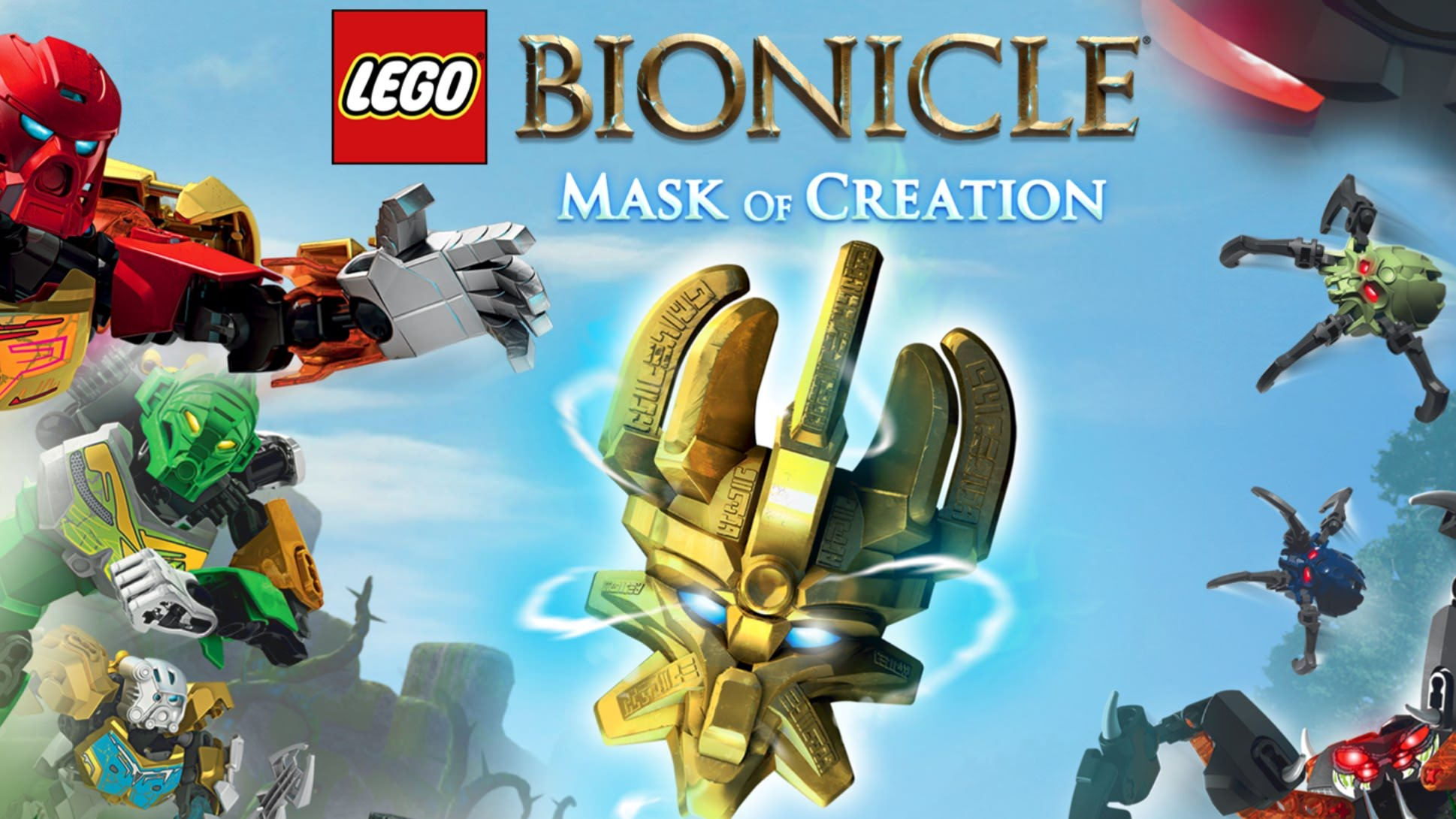 LEGO Bionicle Mask of creation на пк