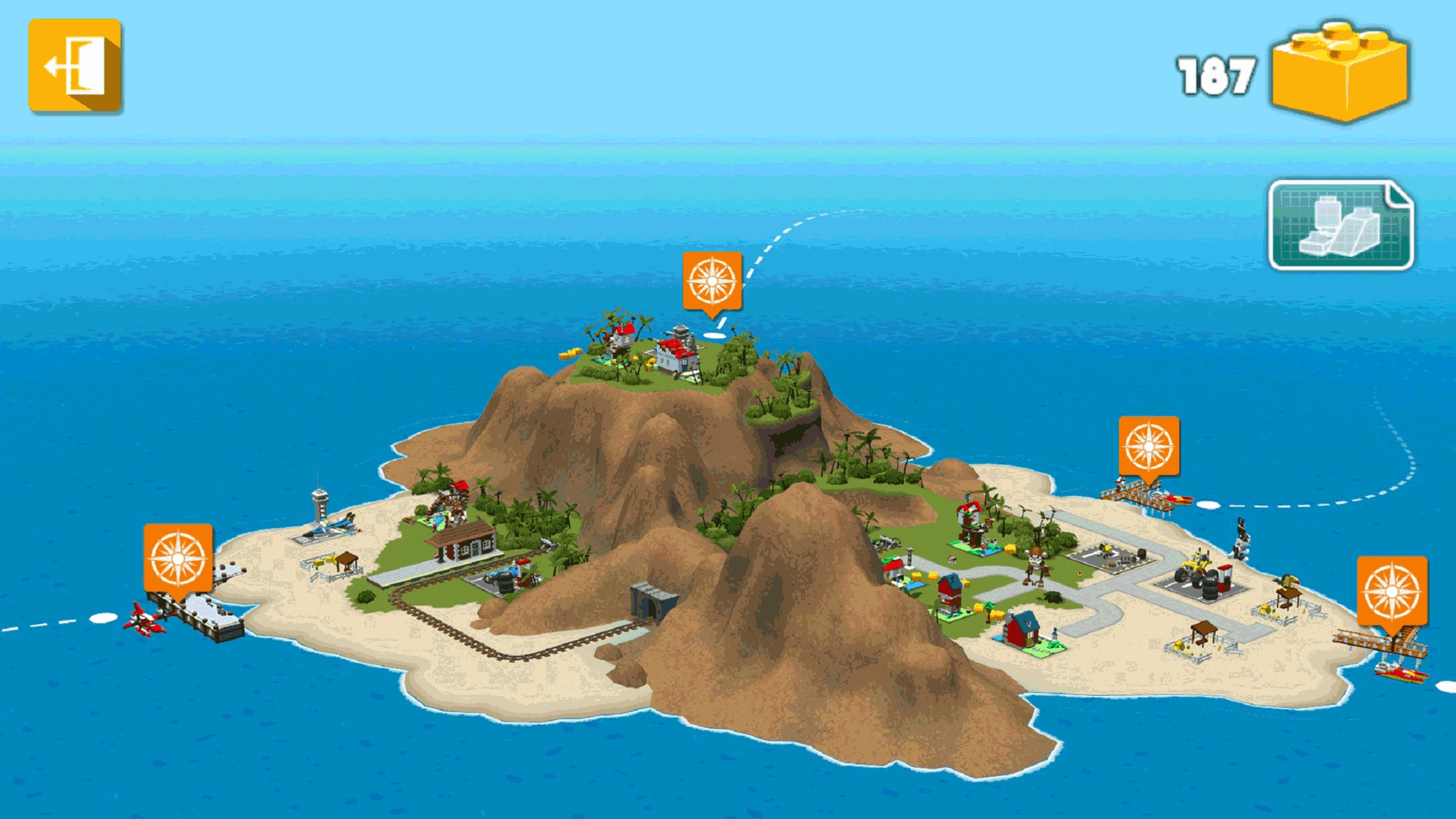 остров в LEGO Creator Islands